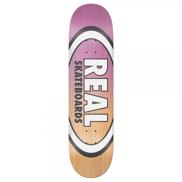 Board Real Team Shine On Oval EMB Pink Yellow