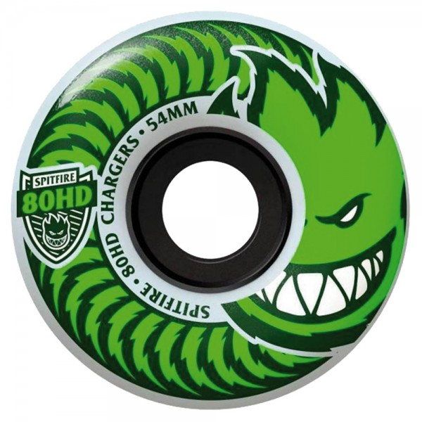 Roues Spitfire Charger Classic Clear Green 80D