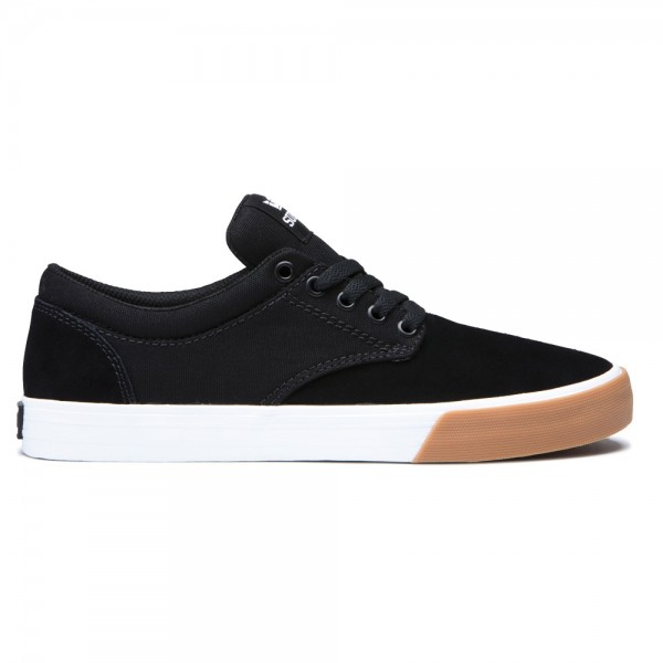 Supra Chino Black White Gum