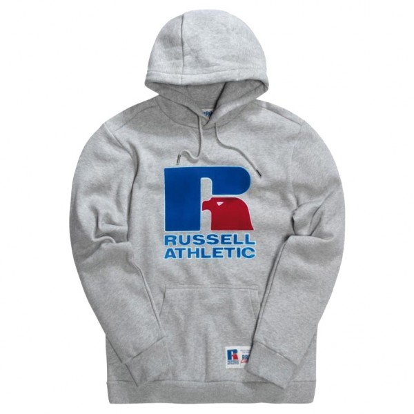 Sweat Capuche Russell Athletic Carlin Eagle Steel Marl