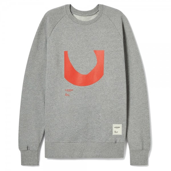 Sweat Leroy Ditch Bright Red