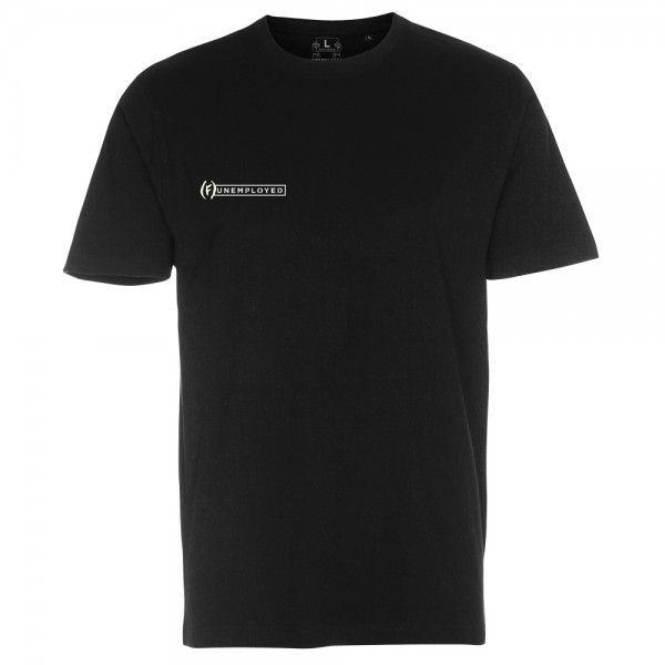 Tee SHirt Unemployed Meet Your Manager Black
