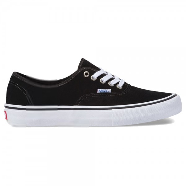 Vans Authentic Pro Black Suede