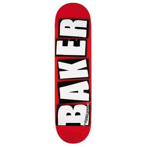 Board BAKER Brand Logo White - boards / skate BAKER SKATEBOARDS - skateboard - Nozbone Skateshop - Paris