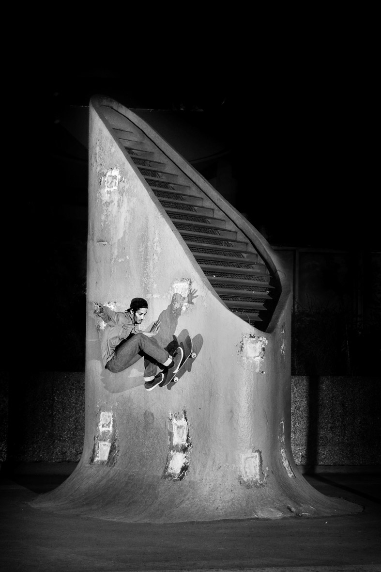 Frontside Wallride - photo : Alex Pires