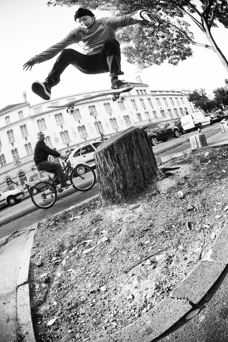 One Foot - photo : Alexandre Pires