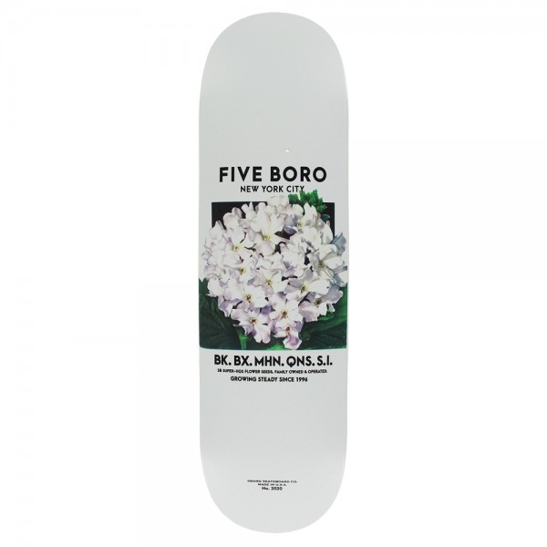 Board 5Boro Flower Seed White