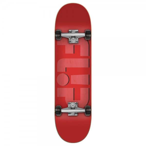 Board Complete Flip Odyssey Embossed Red