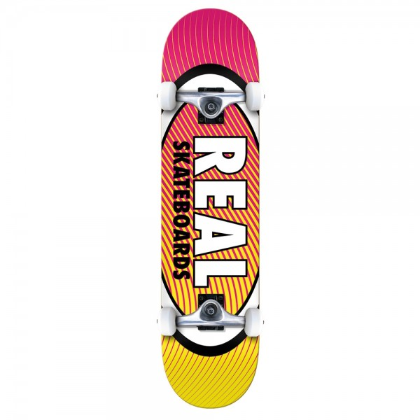 Board Complete Real Team Oval Heatwave XL