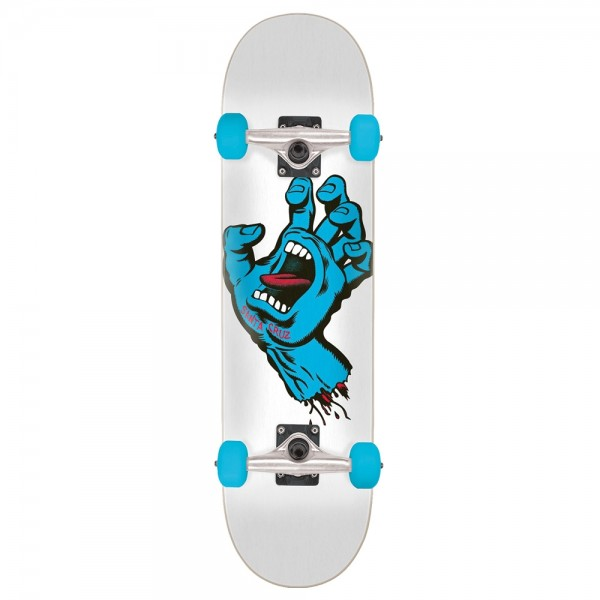 Board Complete Santa Cruz Screaming Hand White
