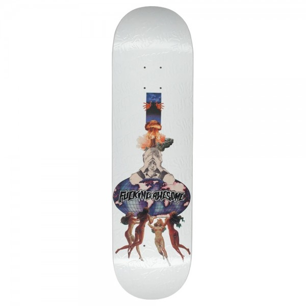Board Fucking Awesome Berle Dipped White