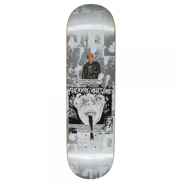 Board Fucking Awesome Face Reality Silver