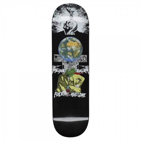 Board Fucking Awesome Frogman Dipped Black