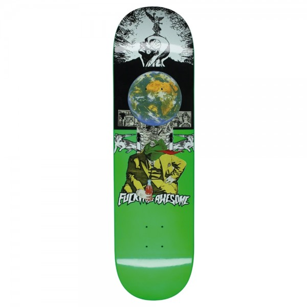 Board Fucking Awesome Frogman Dipped Green