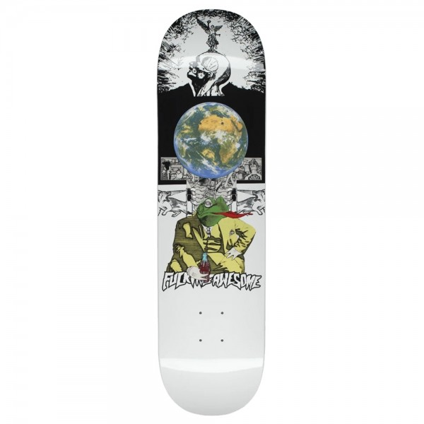 Board Fucking Awesome Frogman Dipped White