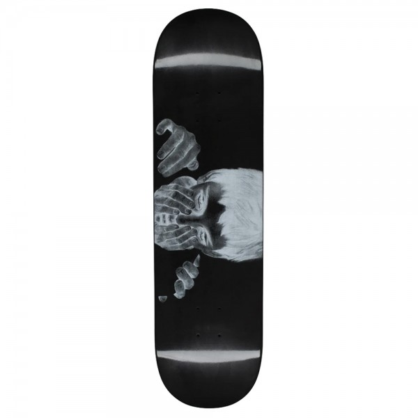Board Fucking Awesome Safe Place Dipped Black