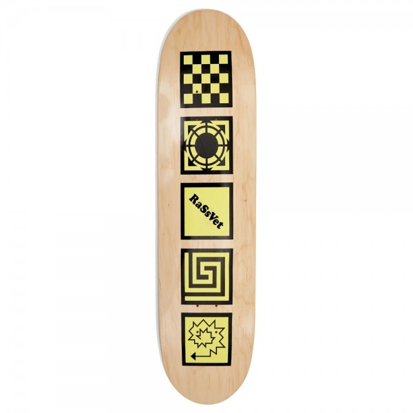 Board Paccbet PACC7SK01 Pro Serie Yellow Val Bauer Deck