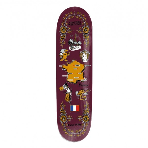 Board Passport France Purple