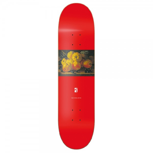 Board Poetic Collective Still Life #1 Red