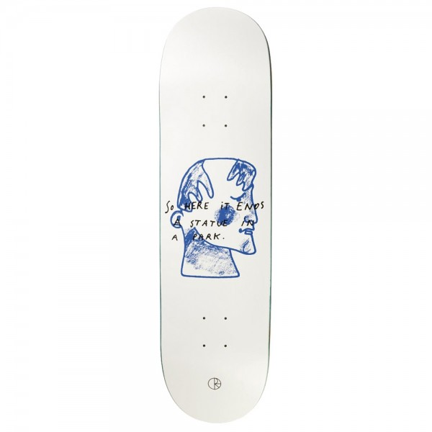 Board Polar I Prefer Marble White