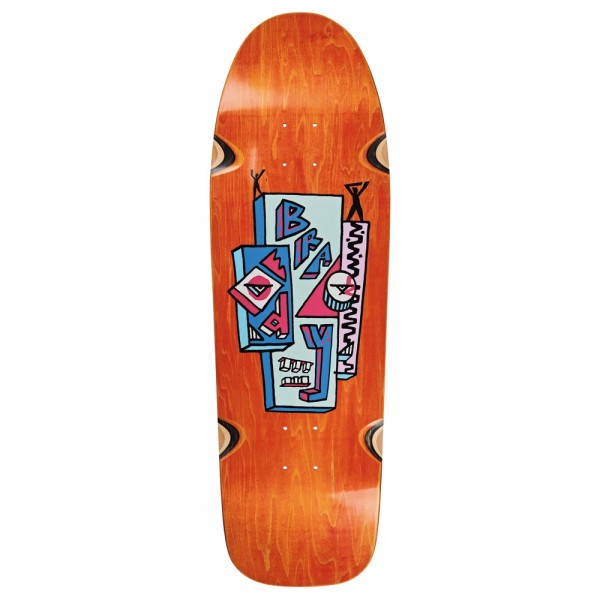 Board Polar Skyscaper Wheel Wells Brady Orange Dane 1