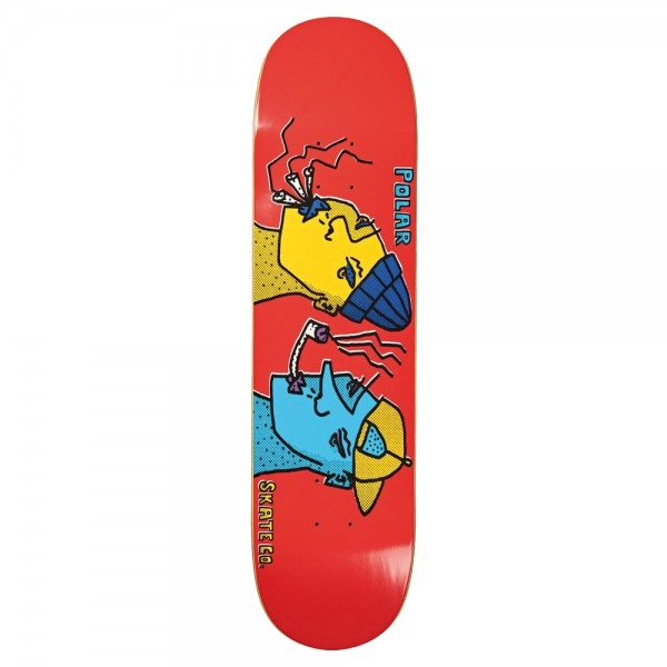 Board Polar Smoking Heads Red