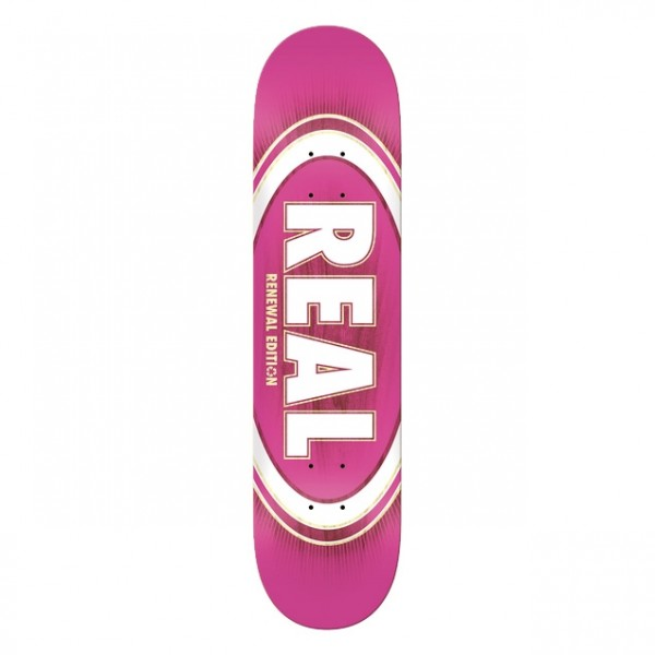 Board Real PP Oval Burst Pink