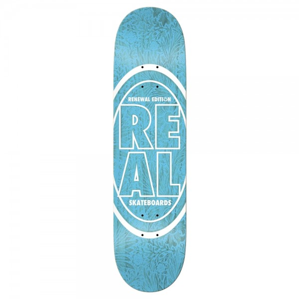 Board Real PP Stacked Oval Floral Blue