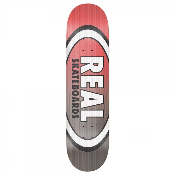 Board Real Team Shine On Oval EMB Red