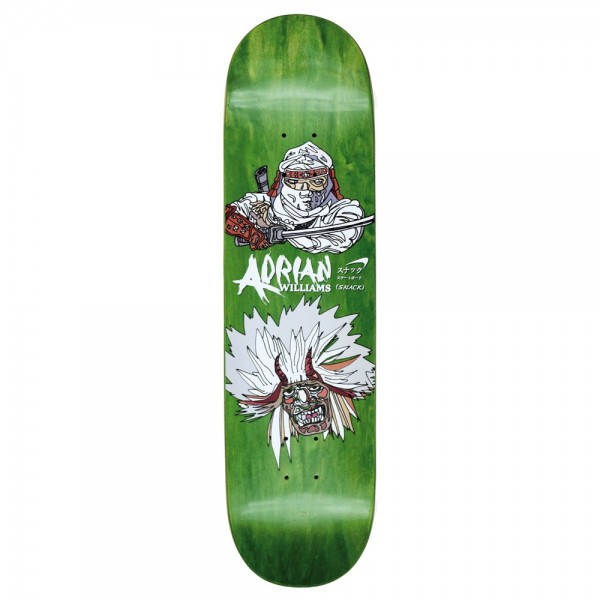 Board Snack Williams Black Shinobi Green