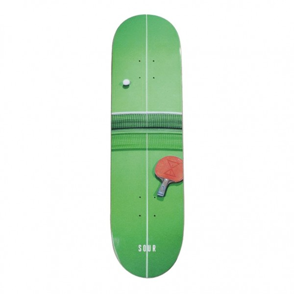 Board Sour Ping Pong Green