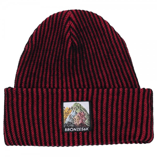 Bonnet Bronze 56 K Mountin Beanie Red