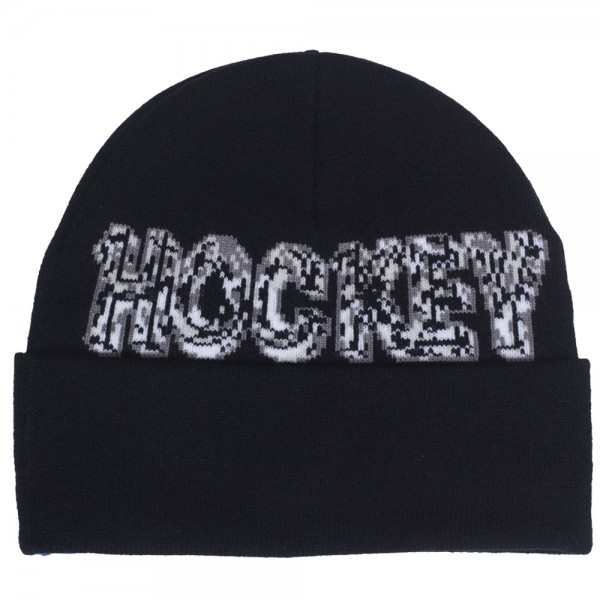 Bonnet Hockey Ice Black