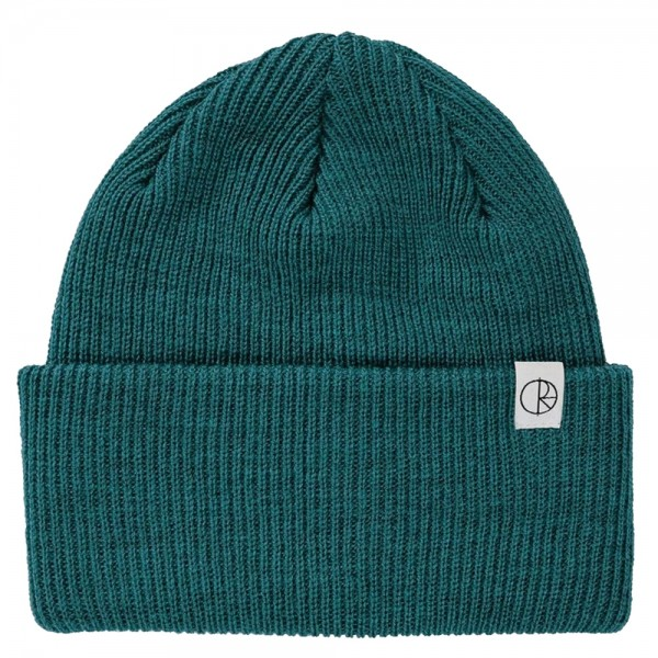 Bonnet Polar Double Fold Merino Dark Green