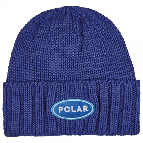 Bonnet Polar Patch Blue