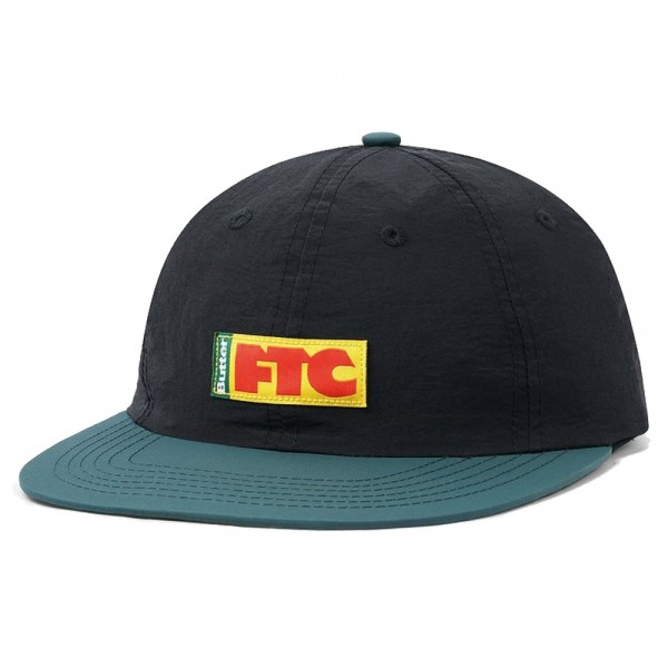 Casquette Buttergoods X FTC Flag 6 Panel Black Forest