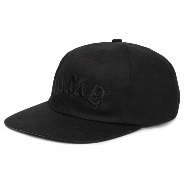 Casquette Dime Spell Out Snapback Black