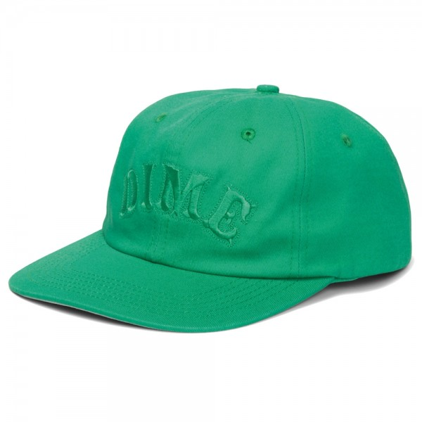 Casquette Dime Spell Out Snapback Green