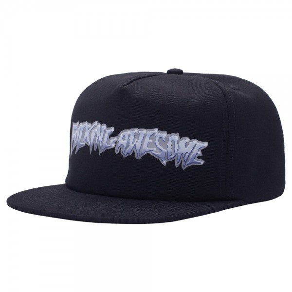 Casquette Fucking Awesome Chrome 5-Panel Cap Black