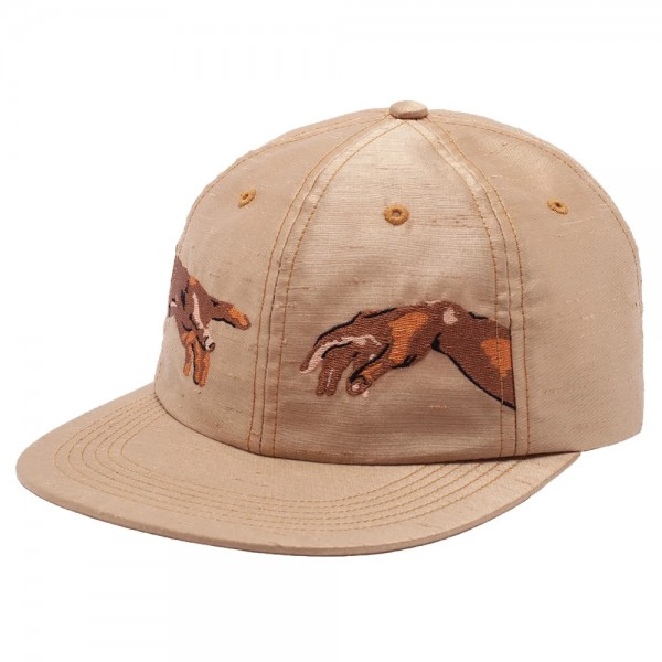 Casquette Fucking Awesome Nak Hands 6 Panels Strapback Rust Yellow