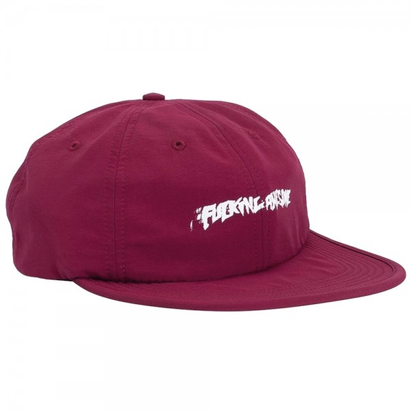 Casquette Fucking Awesome Stamp 6 Panel Snapback Maroon