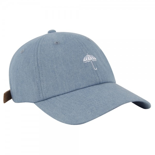 Casquette Helas Classic Denim Clear Blue