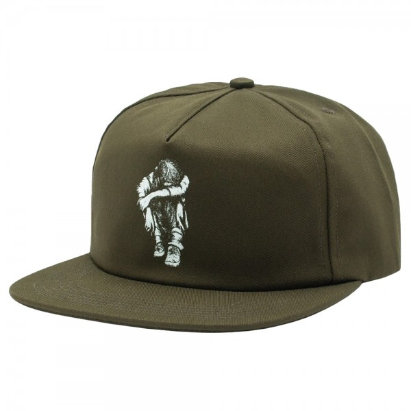 Casquette Hockey Missing Kid 5 Panel Olive