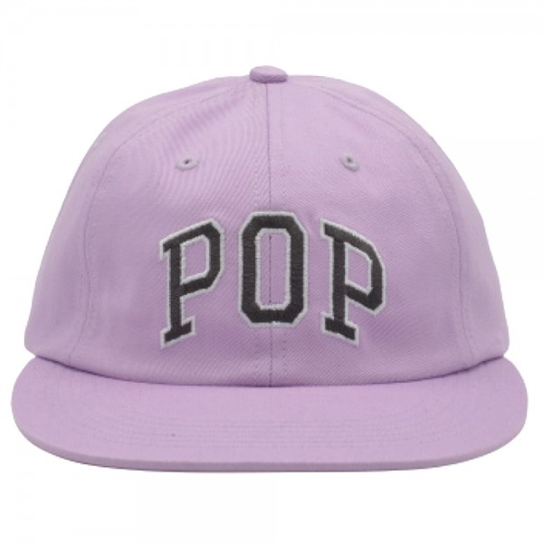 Casquette Pop Trading Company Arch 6 Panel Hat Violet