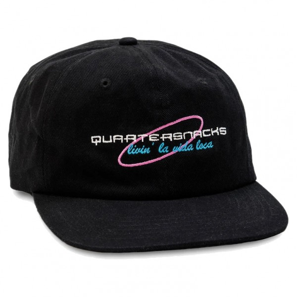 Casquette Quartersnacks Loca Cap Black