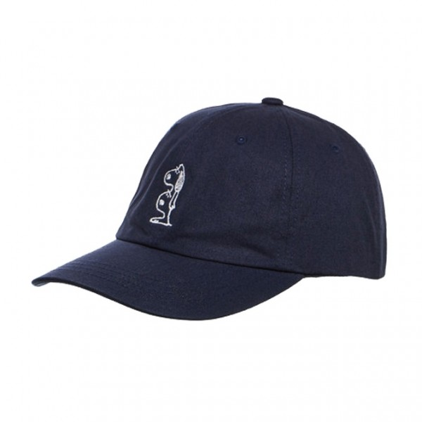 Casquette Quiet Life Double Dog Dad Navy
