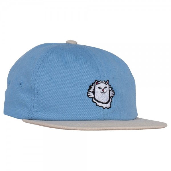 Casquettes Rip N Dip Nermaniac 6 panel Baby Blue