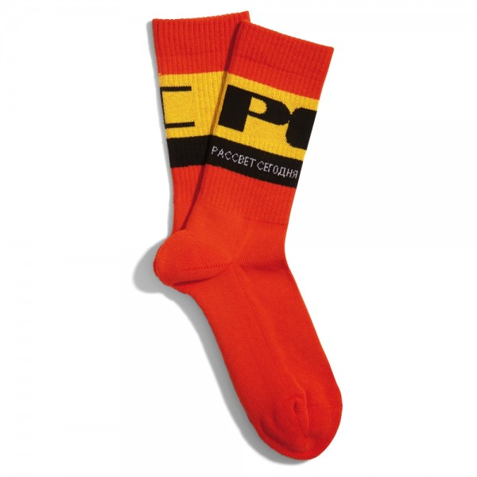 Chaussettes Rassvet Men's Sport Socks Red PACC7K010