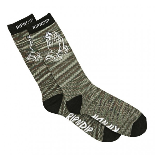 Chaussettes Rip N Dip Praying Hands Camo