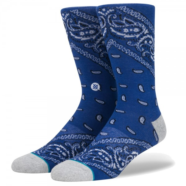 Chaussettes Stance Barrio 2 Blue